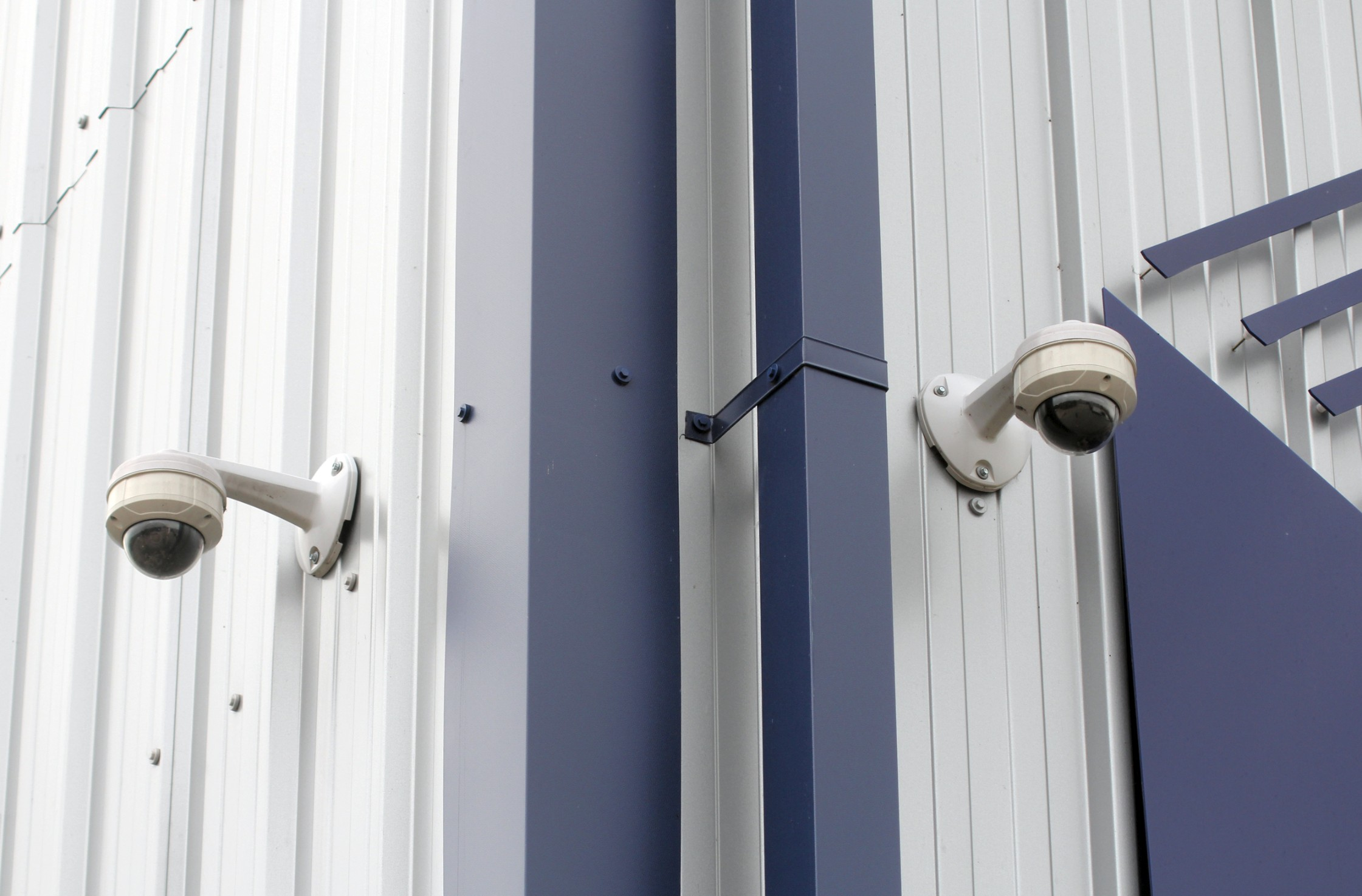 Secure storage facility with CCTV