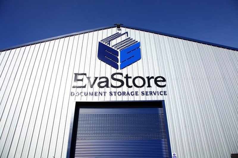 EvaStore Document Management Premises with Security Shutter