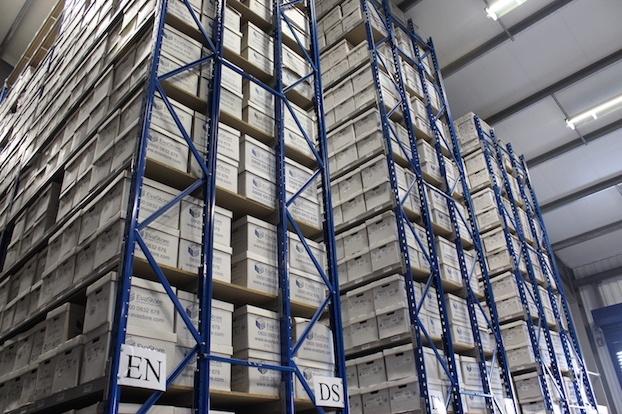 EvaStore Document Management Services - Storage Facility