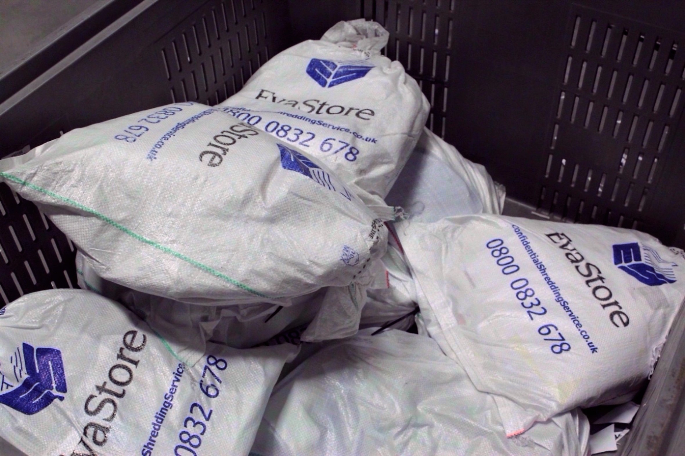 Bags of Shredded Documents