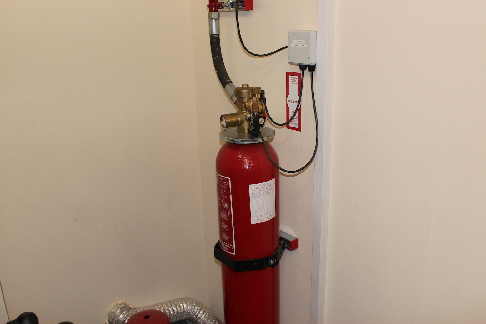Secure Vault Fire Suppression System